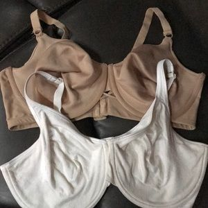 Two bras like new